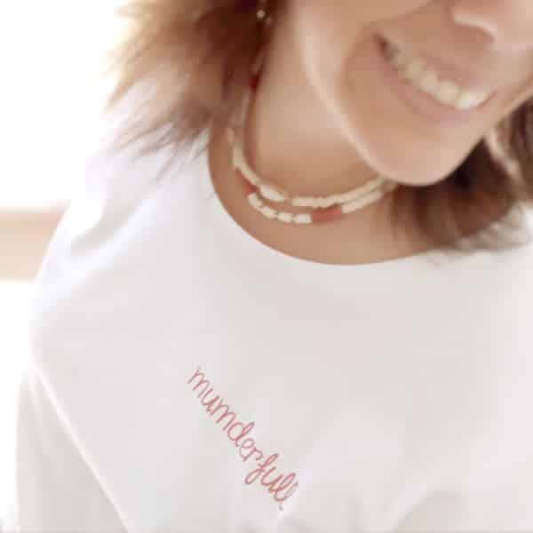 T-shirt fête des mères à personnaliser