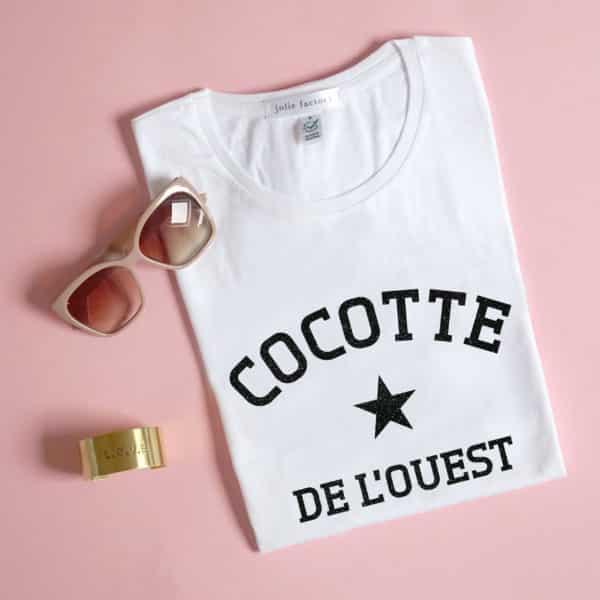 T-shirt femme personnalisé ville ou région