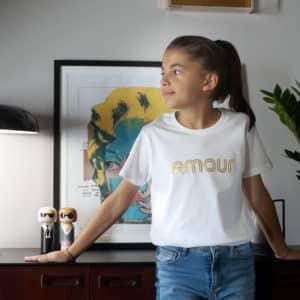T-shirt enfant Amour
