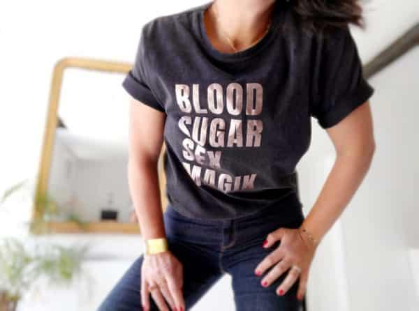 T-shirt rock à personnaliser