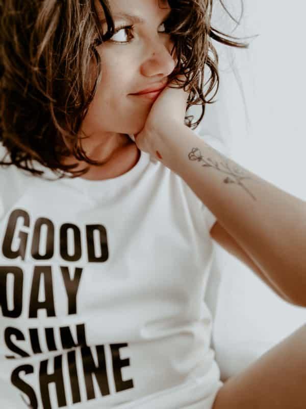 T-shirt boyfriend rock