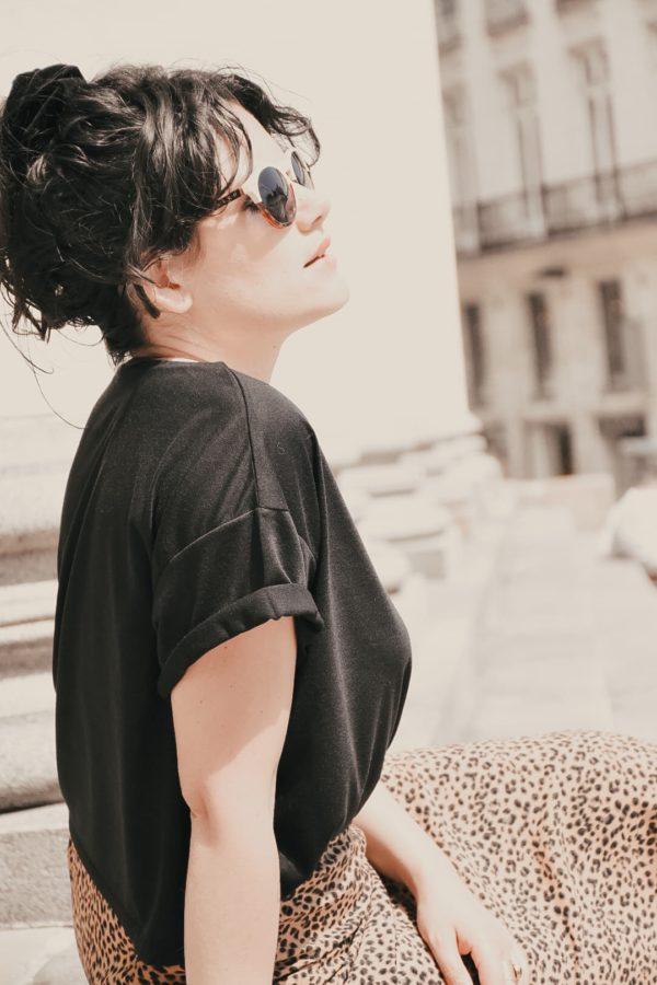 T-shirt femme wild love