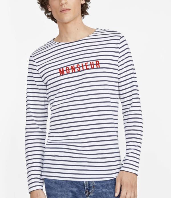 Marinière Monsieur pour homme