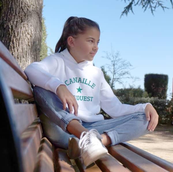 Sweat-shirt enfant étoile personnalisé