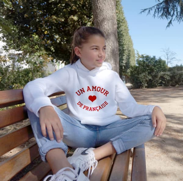 Sweat-shirt enfant Un amour