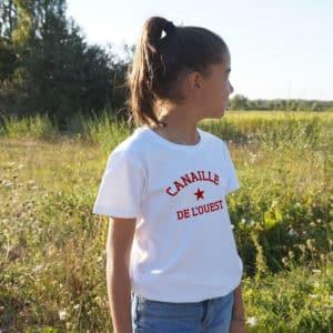 T-shirt enfant étoile personnalisé