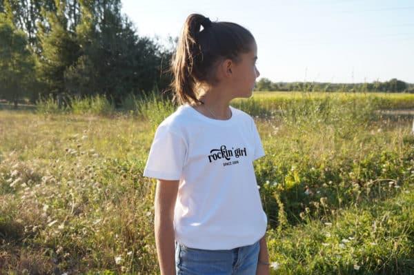 T-shirt enfant Rocking Girl