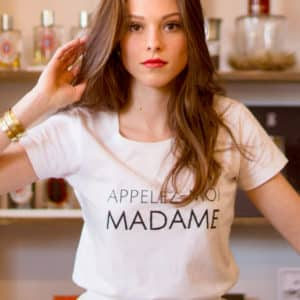 T-shirt Appelez-moi Madame collection mariage