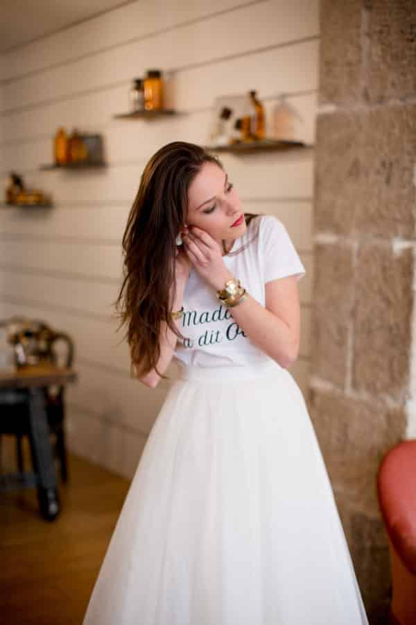 T-shirt Madame a dit oui - Collection Mariage