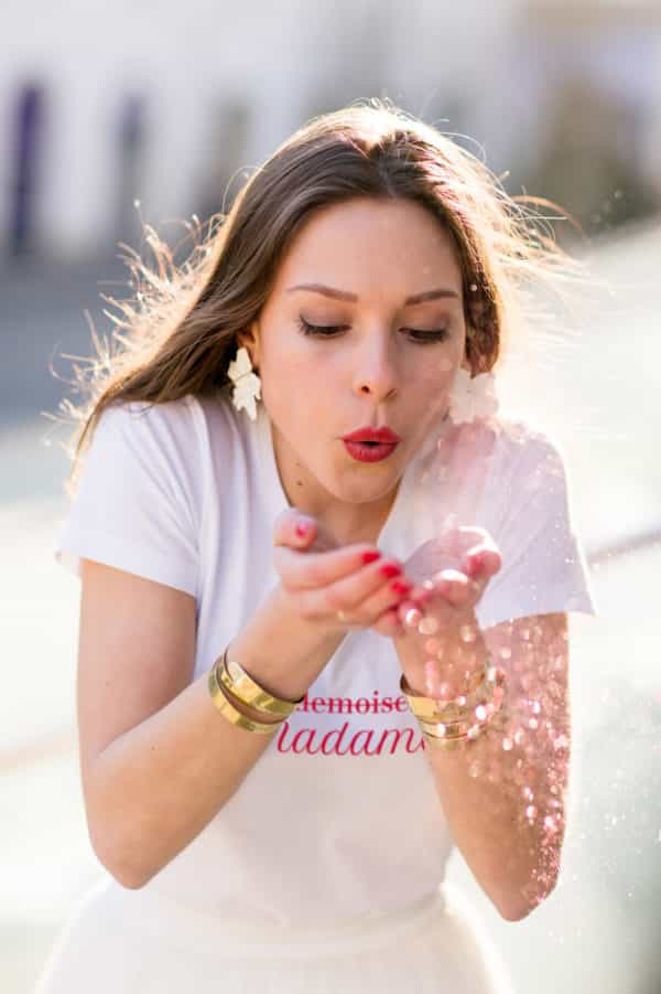 T-shirt Mademoiselle Madame collection mariage