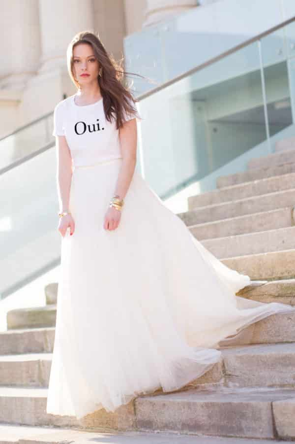 T-shirt Oui mariage