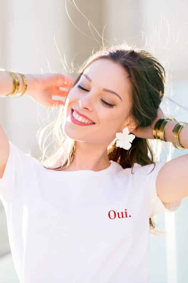 T-shirt Oui collection mariage