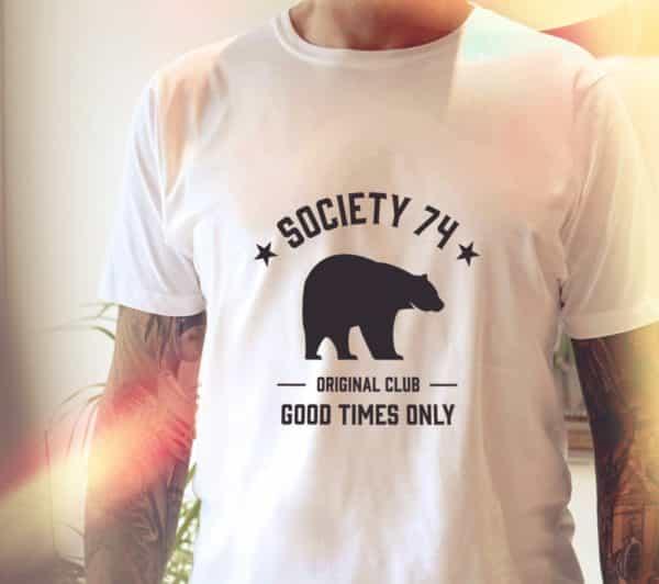 T-shirt Wild pour homme