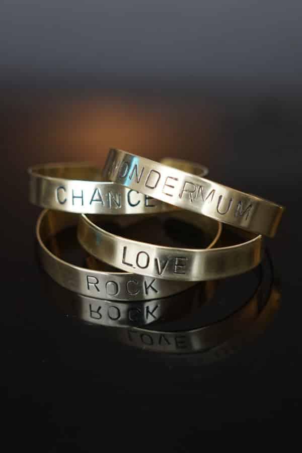 Bracelet message personnalisé