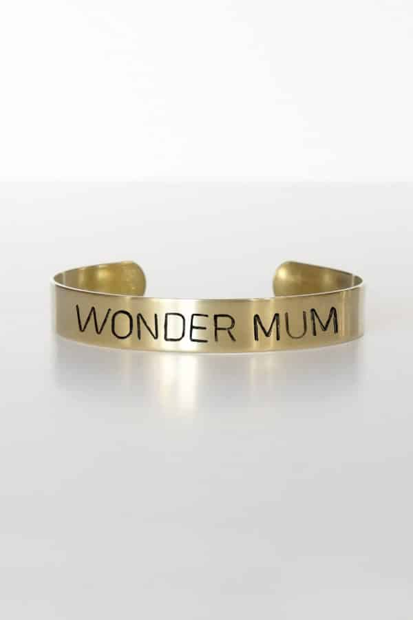 Bracelet message Wonder Mum