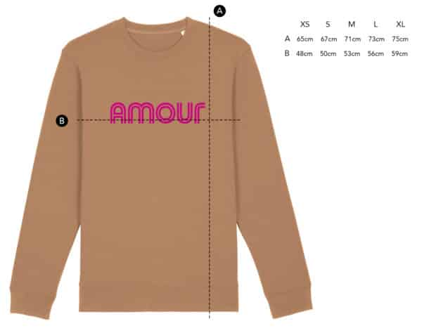 Sweat Amour camel