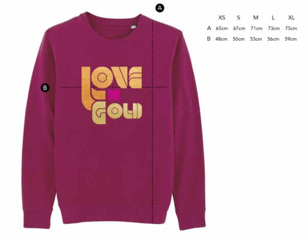 Sweat Love is Gold prune