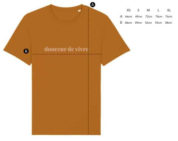 T-shirt Douceur de vivre