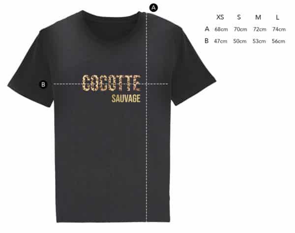 T-shirt Cocotte Sauvage