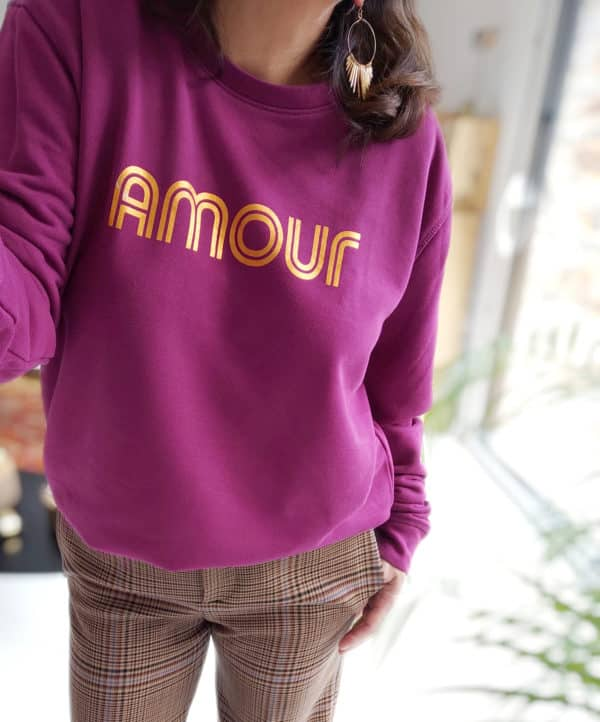Sweat Amour prune