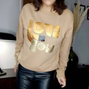 Sweat Love is Gold camel-camel