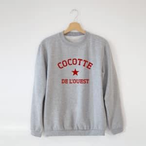 Sweat Cocotte personnalisé