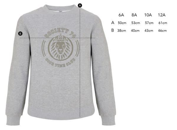 Sweat-shirt enfant lion vintage Good Time Club
