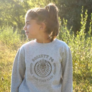 Sweat-shirt enfant lion vintage Good Time Club