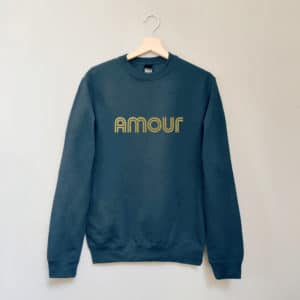 Sweat Amour marine