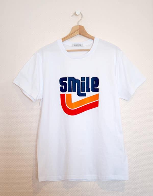 Tee-shirt vintage Smile