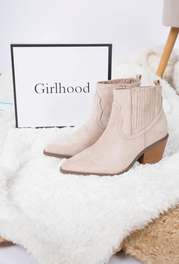 girlhood bottines76 beige 1