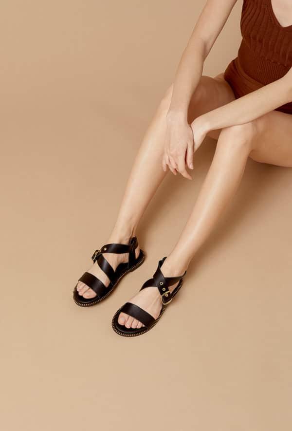 girlhood sandales52 black 2