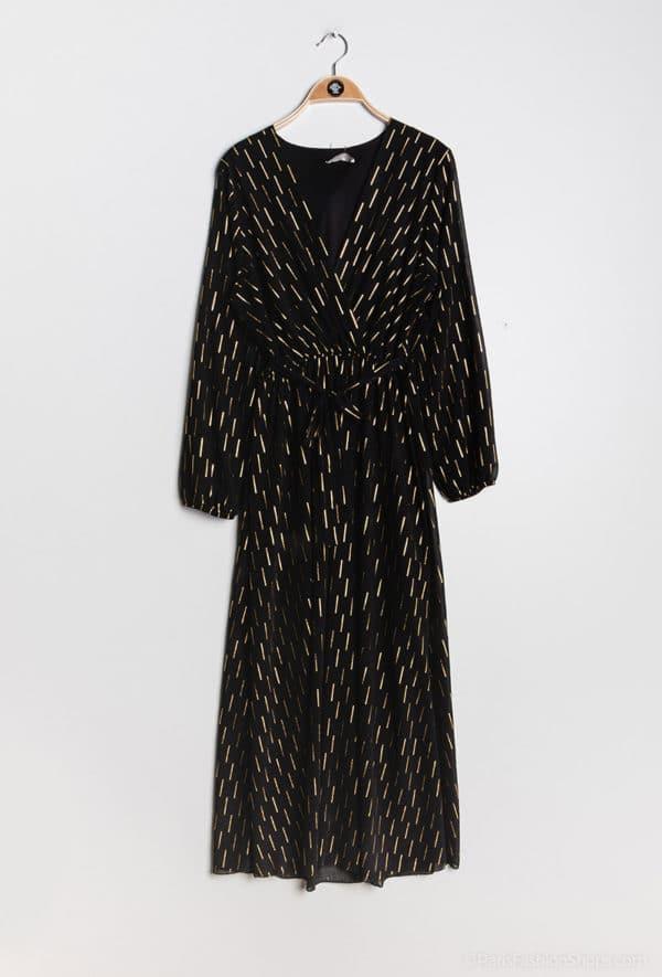 y fashion robe cache cur imprimee11 black 1