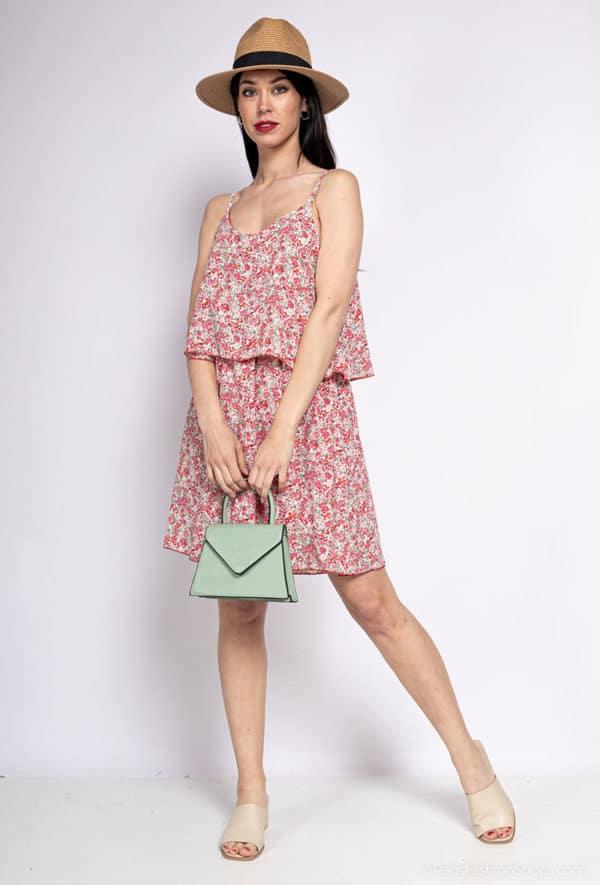 y fashion robe fleurie19 red 1