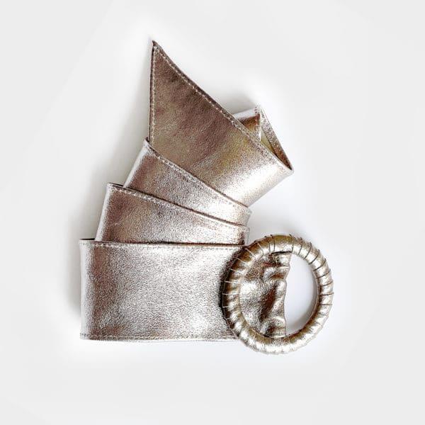 ceinture platine cuir