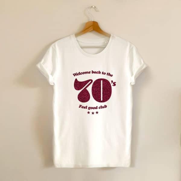 tshirt oversize ecru vintage welcomeback